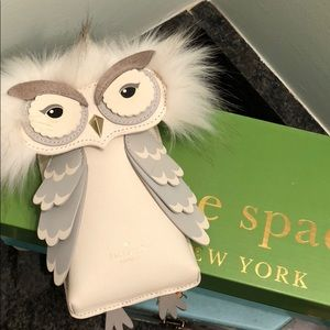 Kate Spade - Small White Owl Bag